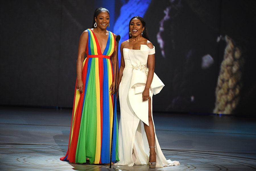 Tiffany Haddish, Angela Bassett