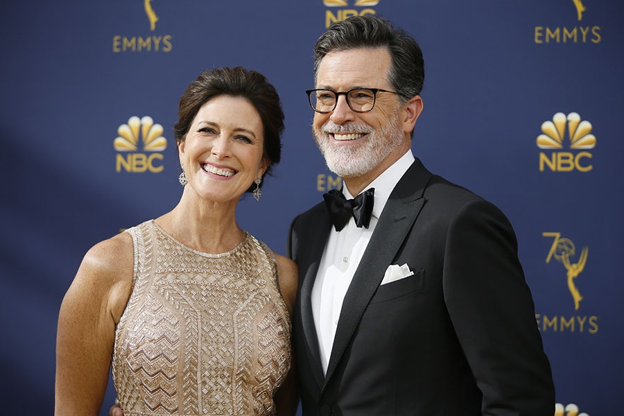 Evelyn McGee-Colbert and Stephen Colbert