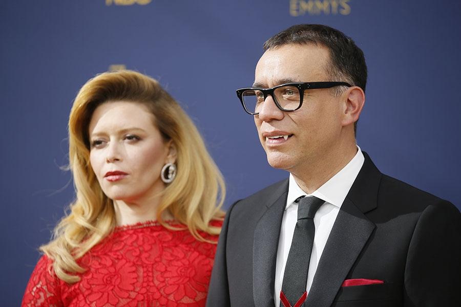 Natasha Lyonne and Fred Armisen