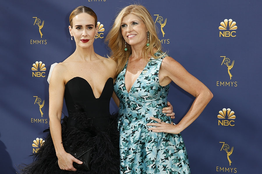 Sarah Paulson and Connie Britton