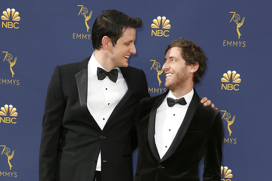 Zach Woods and Thomas Middleditch