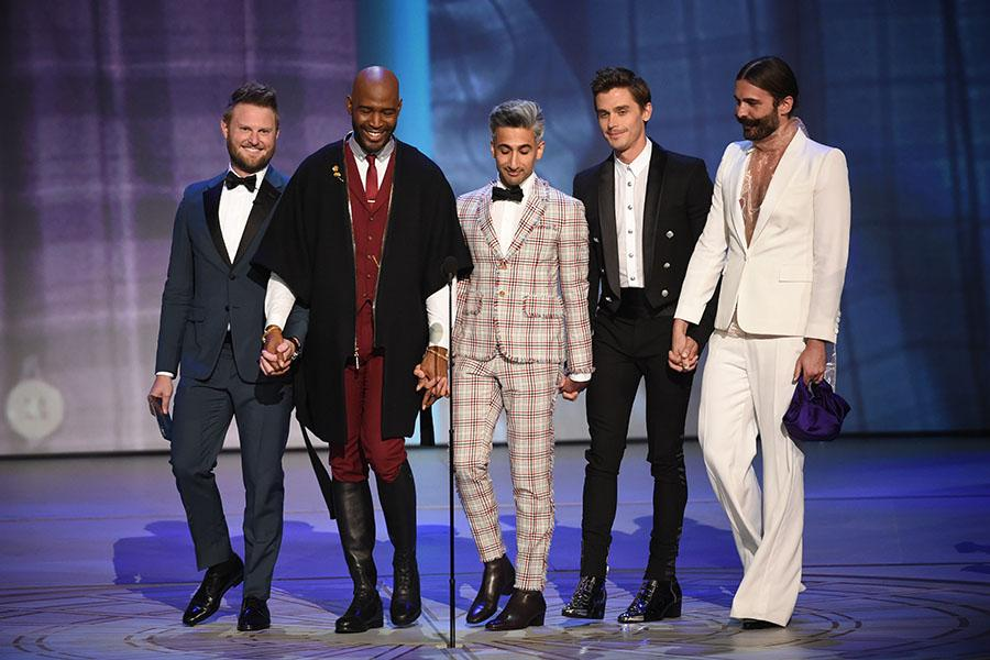 The cast from Queer Eye