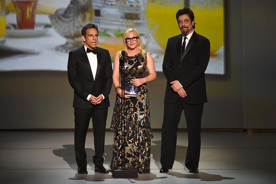 Ben Stiller, Patricia Arquette and Benicio del Toro