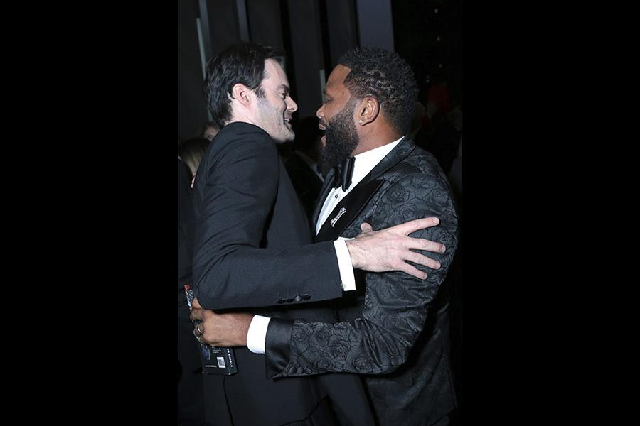 Bill Hader and Anthony Anderson