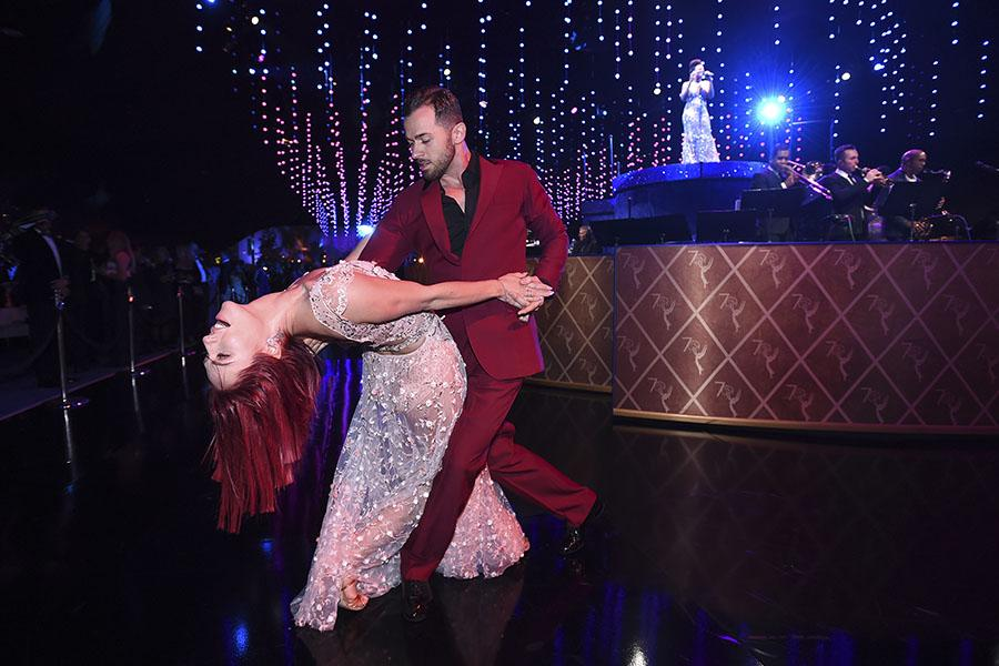 Sharna Burgess and Artem Chigvintsev