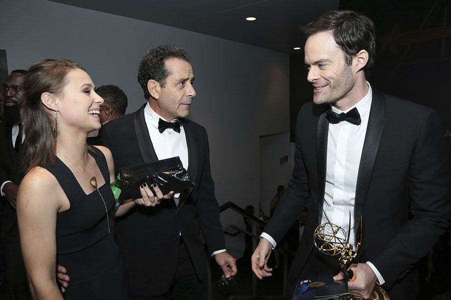 Tony Shalhoub and Bill Hader