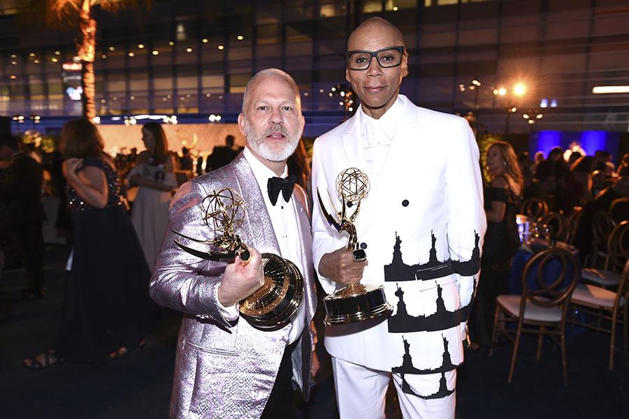 Ryan Murphy and RuPaul Charles