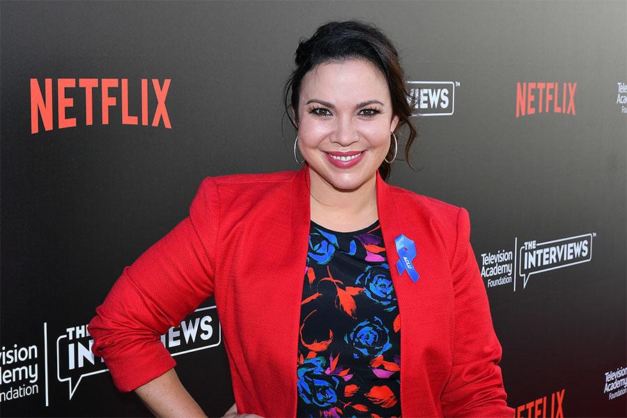 Gloria Calderon Kellett arrives at The Power of TV: A Conversation with Norman Lear and One Day at a Time, presented by the Television Academy Foundation and Netflix in celebration of the Foundation's 20th Anniversary of THE INTERVIEWS: An Oral History Pr