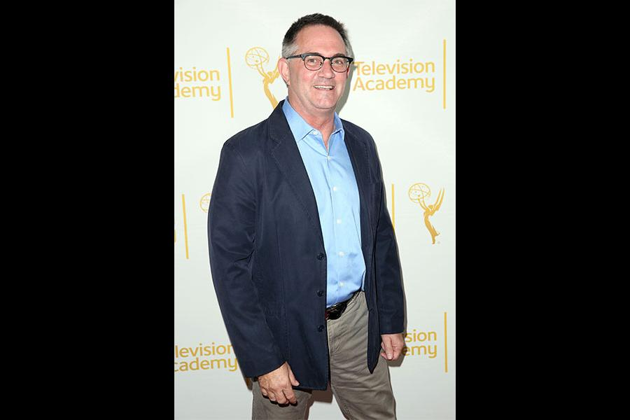 Hart Hanson (Bones) at Showrunners: The Art of Running a TV Show, in North Hollywood, California.