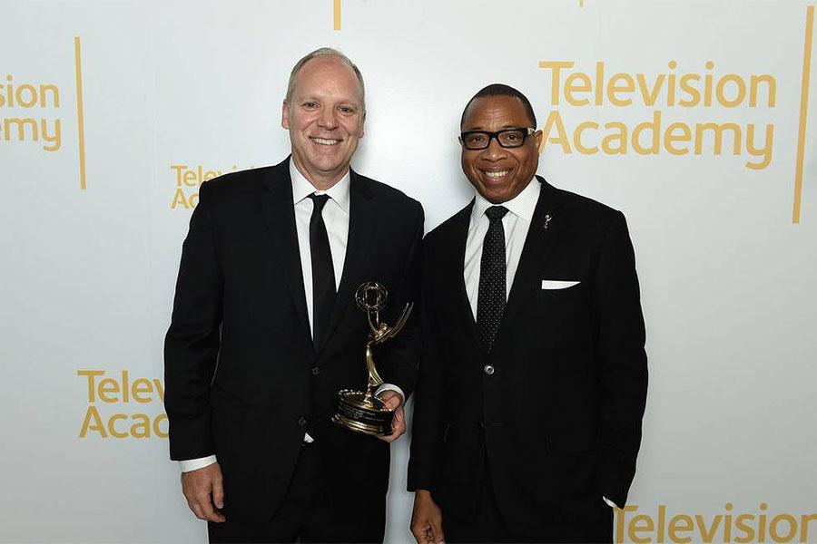 Television Academy, Chairman, CEO, Hayma Washington, PBS SoCal, President, Andrew Russell