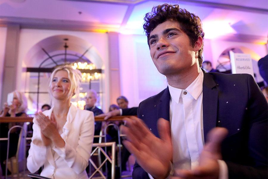 Isabel May, Emery Kelly, 12th Television Academy Honors