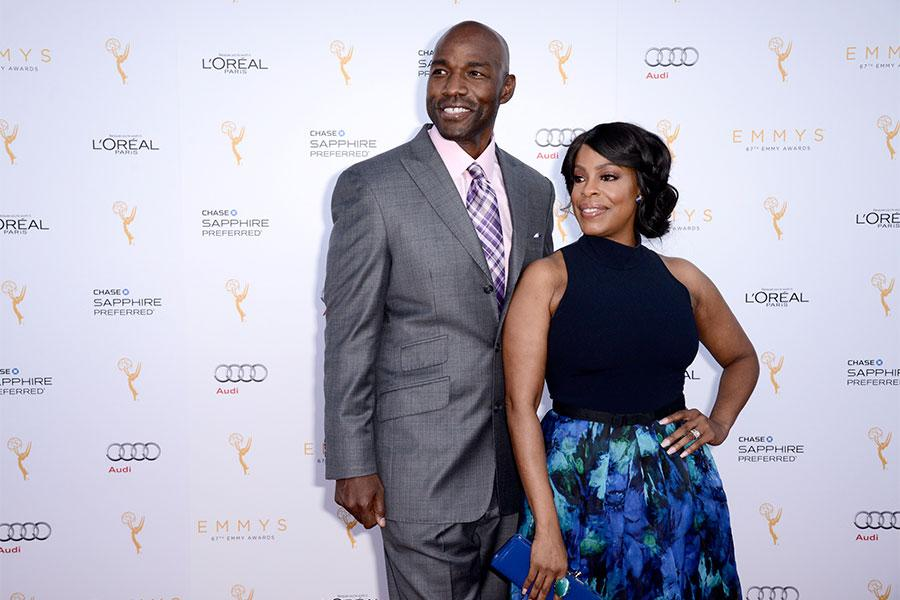 Mark Johnson Michael Kelly And Lezlie Johnson At The Performers Nominee Reception September 19 2015 At The Pacific Design Center In Los Angeles California Television Academy