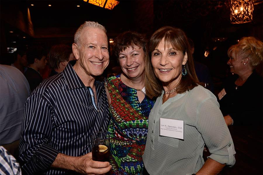 Jeff Greenberg, Stephanie Gorin, Lori Openden