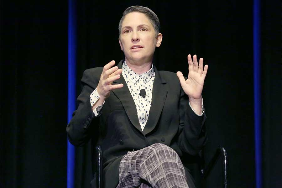 Creator Jill Soloway onstage at Transparent: Anatomy of an Episode, March 17, 2016 in Los Angeles.