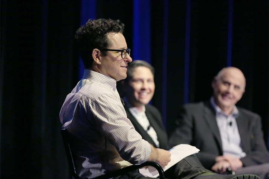 J.J. Abrams moderates onstage at Transparent: Anatomy of an Episode, March 17, 2016 in Los Angeles.