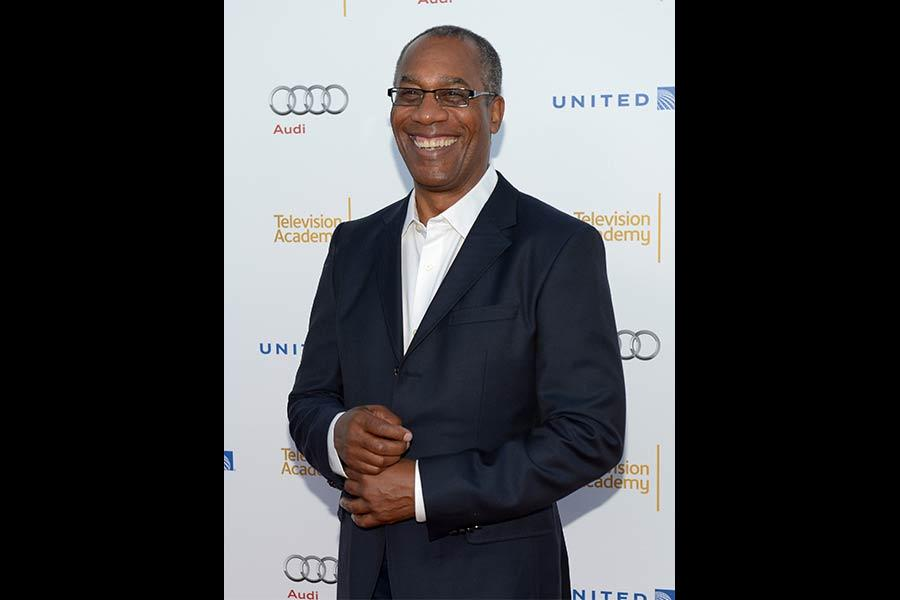 Joe Morton arrives at the Performers Peer Group nominee reception in West Hollywood.