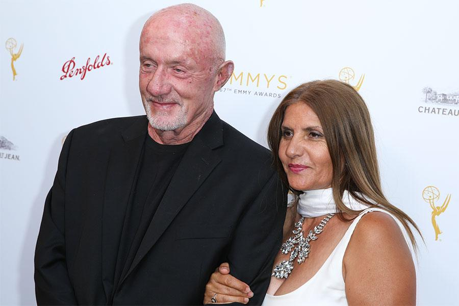 Jonathan and Gennera Banks arrive at the Performers Peer Group Celebration August 24 at the Montage in Beverly Hills, California.