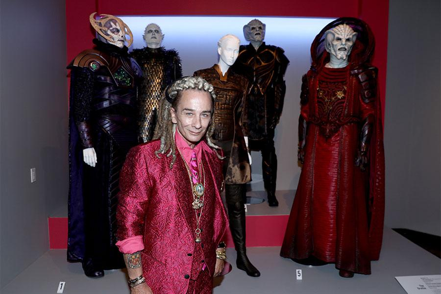 Joseph A Porro Featured Costume Designer For The Orville Attends The 2018 Costume Design Supervision Nominee Reception At The Fashion Institute Of Design Marketing In Los Angeles California On August