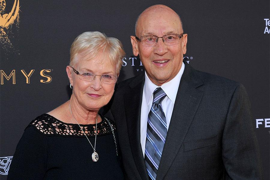 Bob and Judy Miller at the L.A. Area Emmy Awards presented at the Television Academy's Wolf Theatre at the Saban Media Center on Saturday, July 22, 2017, in North Hollywood, California.