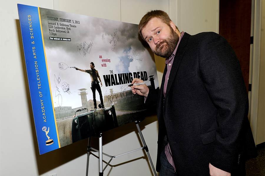 Creative/Executive producer Robert Kirkman at An Evening with The Walking Dead.