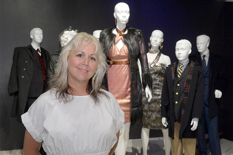Emmy nominee Lisa Padovani at The 9th Annual Outstanding Art of Television Costume Design Exhibition at the FIDM Museum & Galleries, Saturday, July 18, 2015, in Los Angeles.
