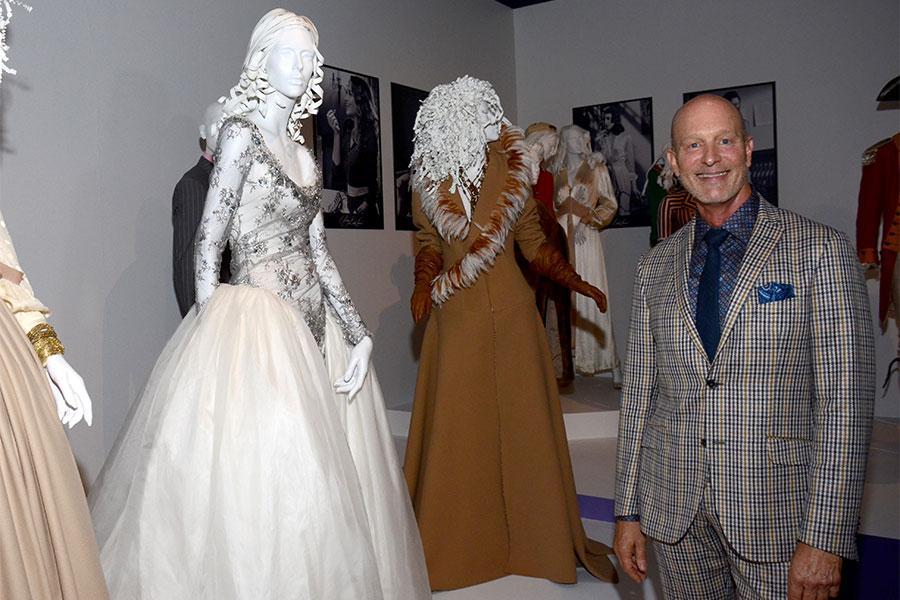 Designer Luke Reichie (Castle).