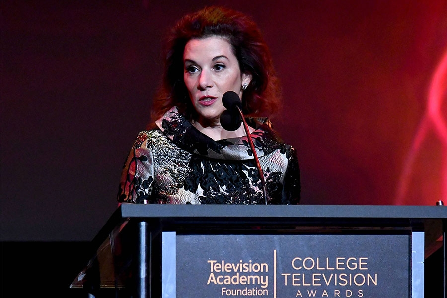 Television Academy Foundation chair Madeline Di Nonno at the 38th College Television Awards presented by the Television Academy Foundation at the Saban Media Center on Wednesday, May 24, 2017, in the NoHo Arts District in Los Angeles.