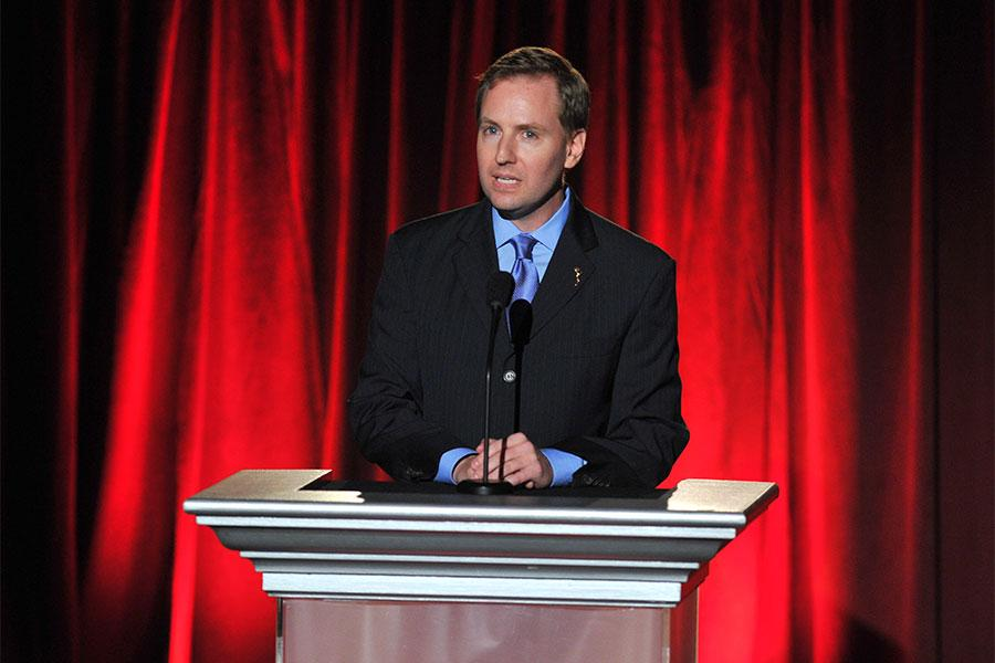 Television Academy president and chief operating officer Maury McIntyre at the 66th Los Angeles Area Emmy Awards.
