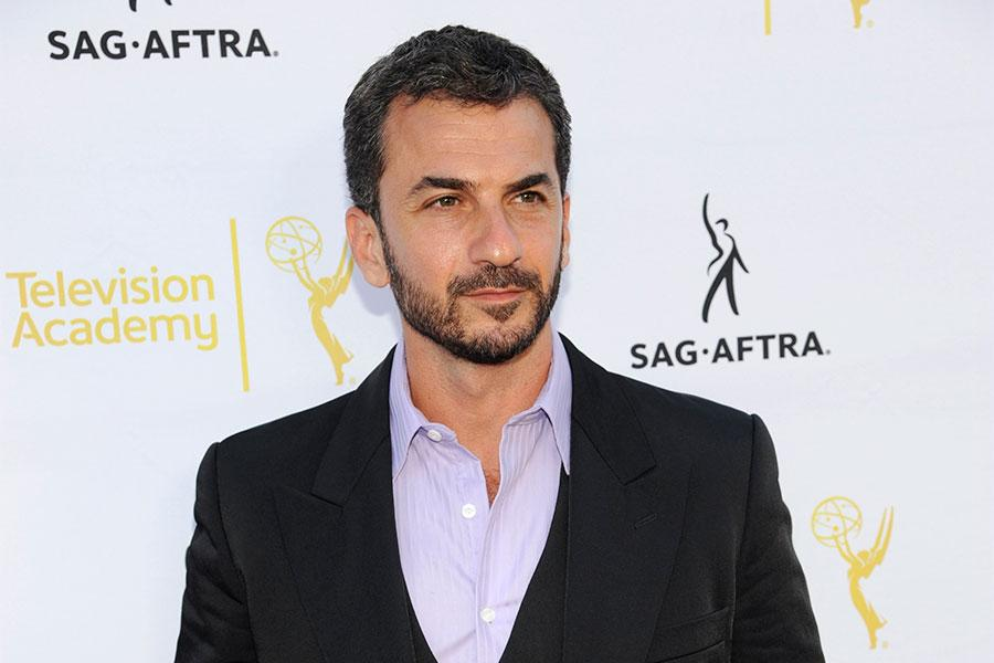 Michael Aranov of The Americans arrives at Dynamic and Diverse: A 66th Emmy Awards Celebration of Diversity in the NoHo Arts District.