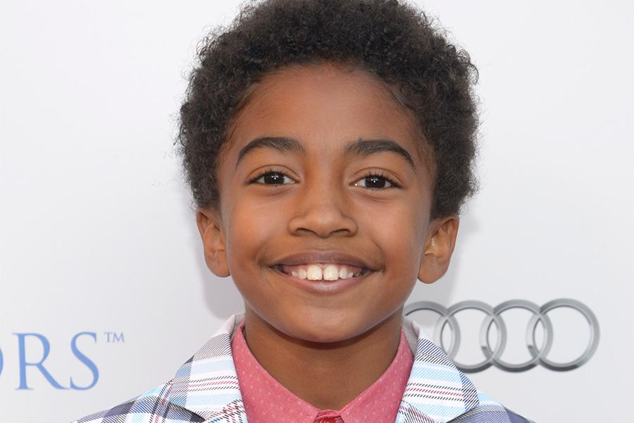 Miles Brown of black-ish arrives at the Eighth Annual Television Academy Honors, May 27 at the Montage Beverly Hills.