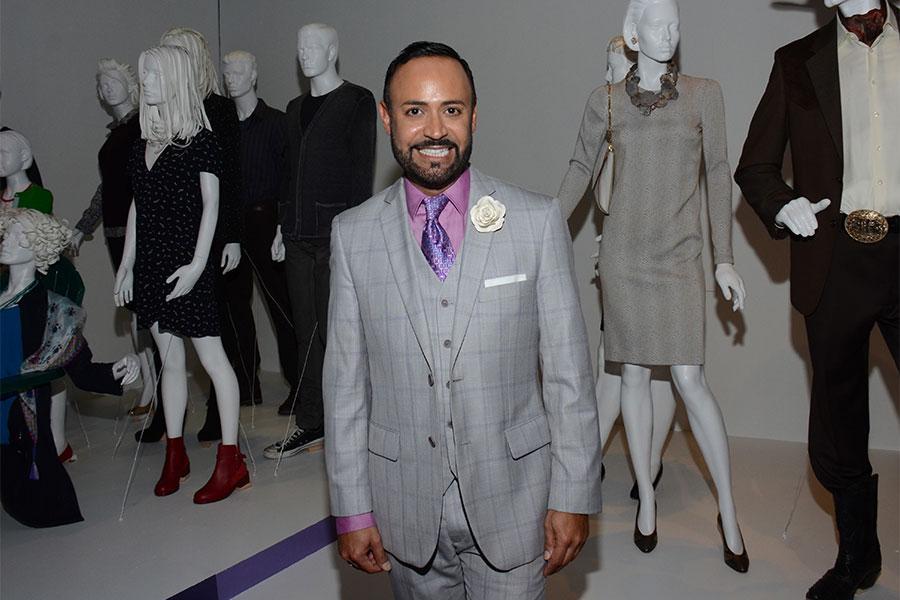 FIDM spokesperson and fashion designer Nick Verreos.