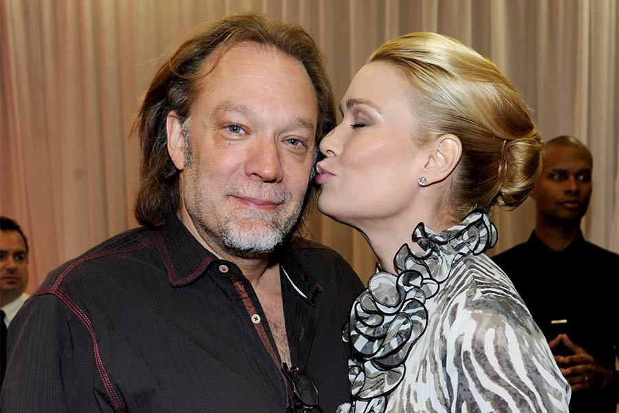 Greg Nicotero and Laurie Holden at An Evening with The Walking Dead.
