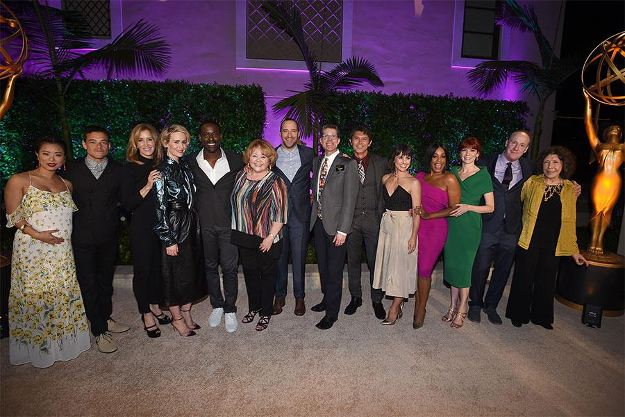 2016 performer nominees at the Performers Peer Group Celebration, August 22, 2016, at the Montage Beverly Hills in Beverly Hills, California.