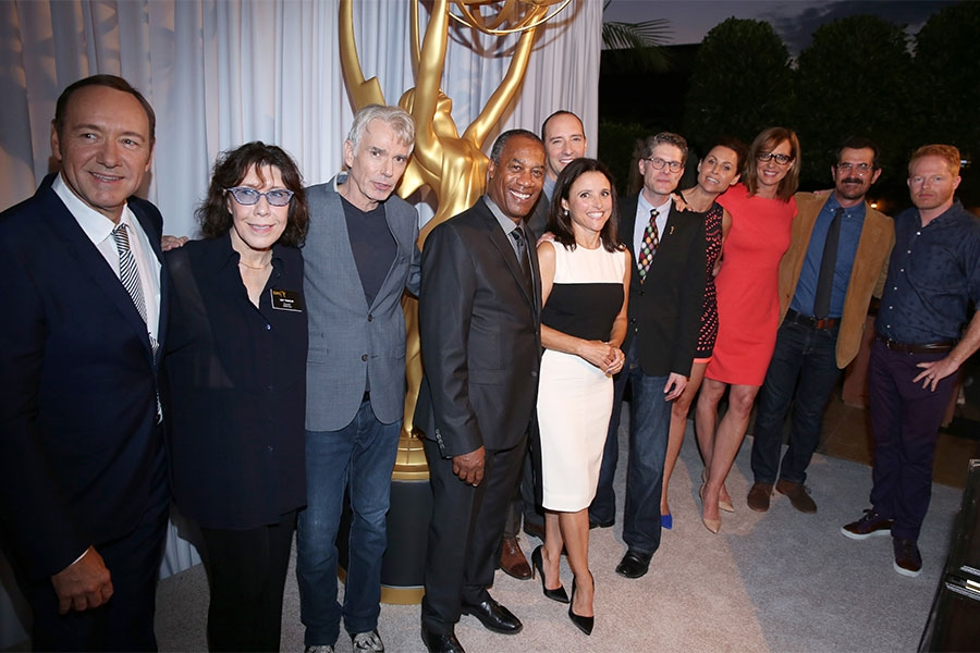 66th Primetime Emmy nominees at the Performers Peer Group nominee reception.