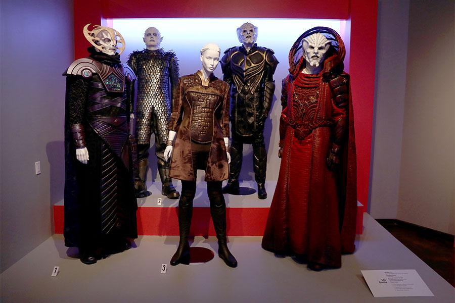 Costumes From Glow Are Displayed At The 2018 Costume Design Supervision Nominee Reception At The Fashion Institute Of Design Marketing In Los Angeles California On August 18 2018