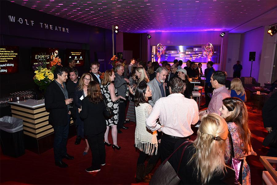 Nominees and guests mingle at the Sound Editing and Sound Mixing nominee reception, September 8, 2016 at the Saban Media Center in North Hollywood, California.