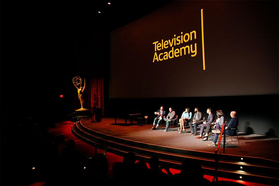 Panelists onstage at Unlock Our Potential at the Television Academy's Saban Media Center, August 9, 2016.