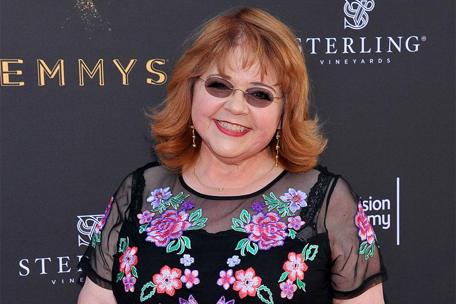 Television Academy governor Patrika Darbo at the L.A. Area Emmy Awards presented at the Television Academy's Wolf Theatre at the Saban Media Center on Saturday, July 22, 2017, in North Hollywood, California.