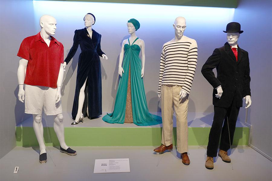 Costumes From Genius Picasso Are Displayed The 2018 Costume Design Supervision Nominee Reception At The Fashion Institute Of Design Marketing In Los Angeles California On August 18 2018 Television Academy