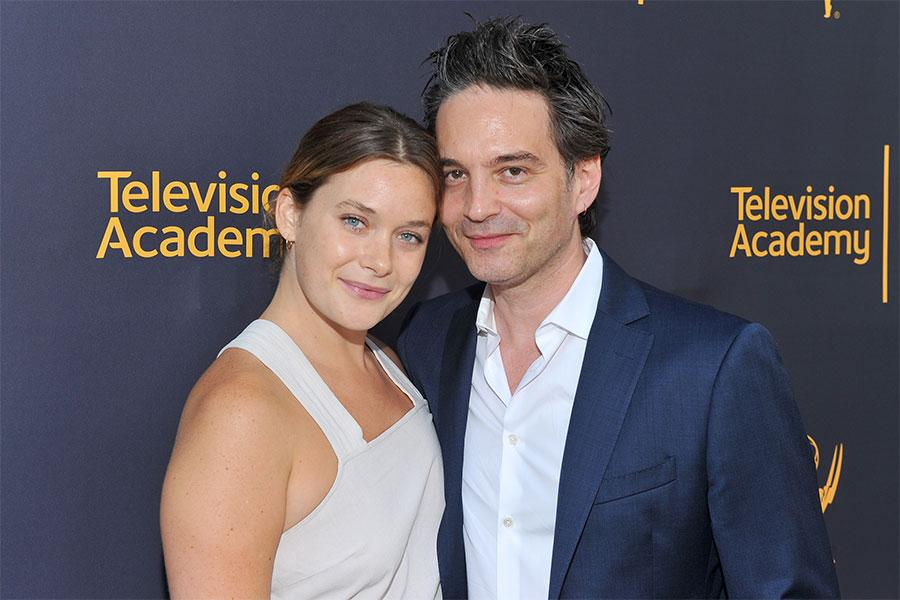Rachel Keller and Jeff Russo at WORDS + MUSIC, presented Thursday, June 29, 2017 at the Television Academy's Wolf Theatre at the Saban Media Center in North Hollywood, California.