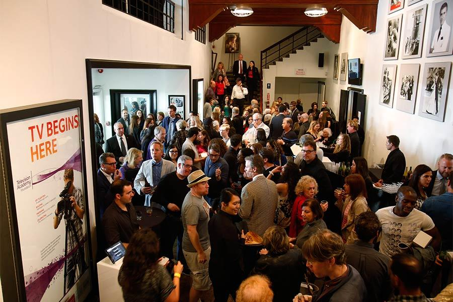 "An overview of the reception at ""A Farewell to Mad Men,"" May 17, 2015 at the Montalbán Theater in Hollywood, California."