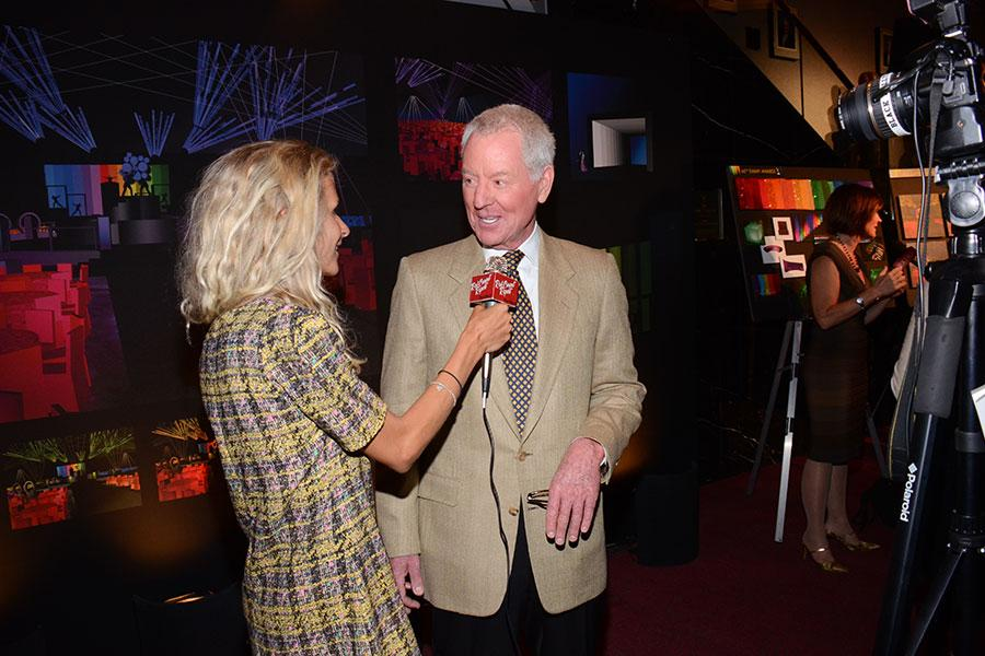 Russ Patrick, Governors Ball Committee Chair at the Television Academy's 66th Emmy® Awards Governors Ball Sneak Peek press preview.