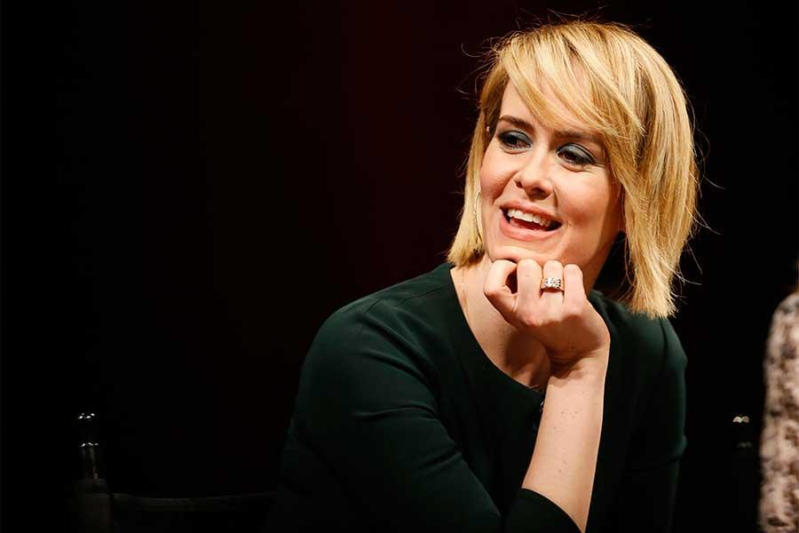 Sarah Paulson onstage at An Evening with the Women of American Horror Story in Hollywood, California.