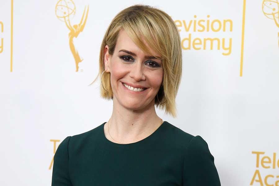 Sarah Paulson arrives at An Evening with the Women of American Horror Story in Hollywood, California.