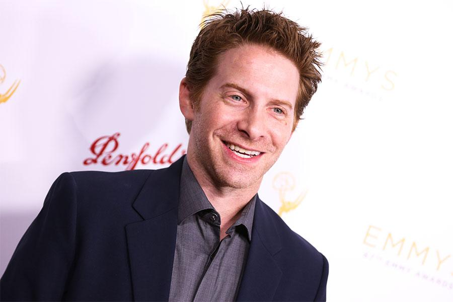 Seth Green arrives at the Performers Peer Group Celebration August 24 at the Montage in Beverly Hills, California.