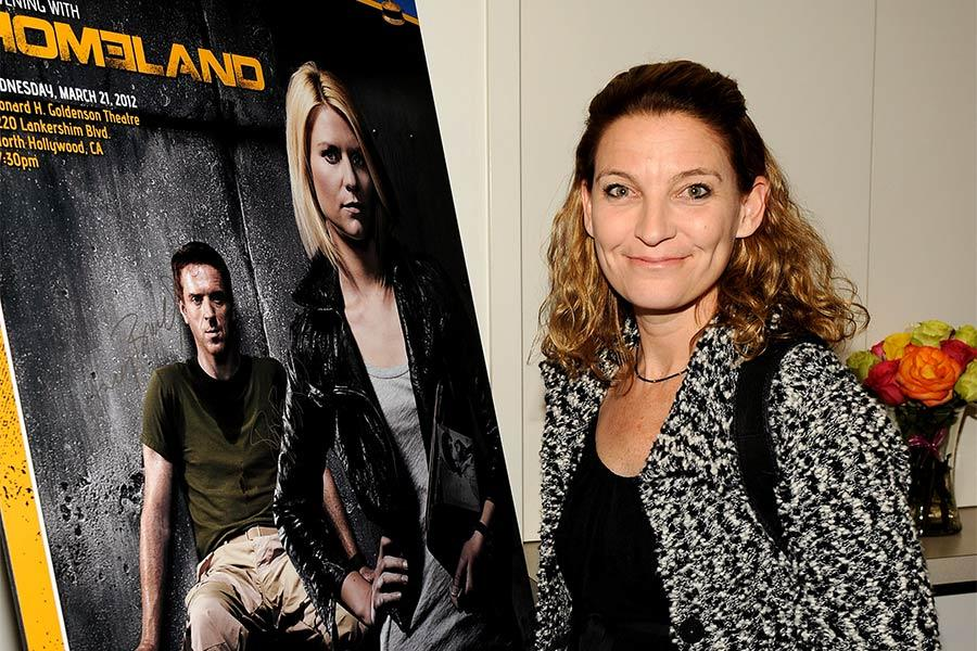 Homeland consulting producer Meredith Stiehm at An Evening with Homeland.