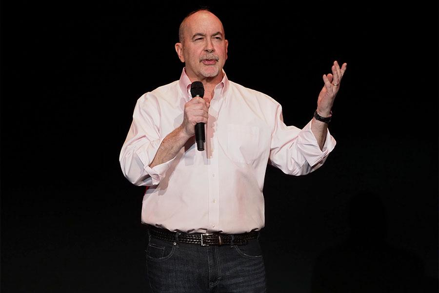 Television Academy governor Terence Winter at Story TV: Adventures in Hollywood, presented Tuesday, June 13, 2017 at the Television Academy's Wolf Theatre at the Saban Media Center in North Hollywood, California.