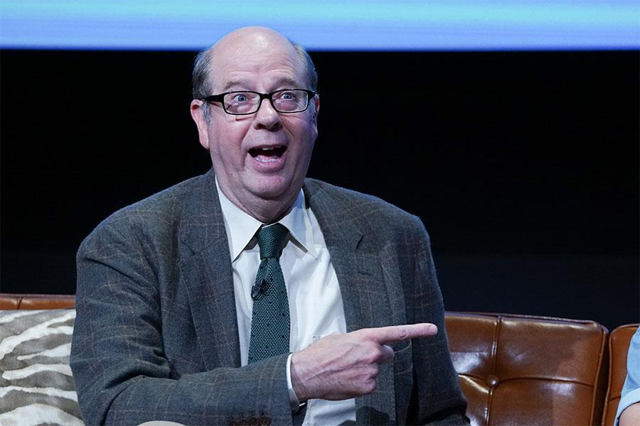 Stephen Tobolowsky onstage at The Power of TV: A Conversation with Norman Lear and One Day at a Time, presented by the Television Academy Foundation and Netflix in celebration of the Foundation's 20th Anniversary of THE INTERVIEWS: An Oral History Project