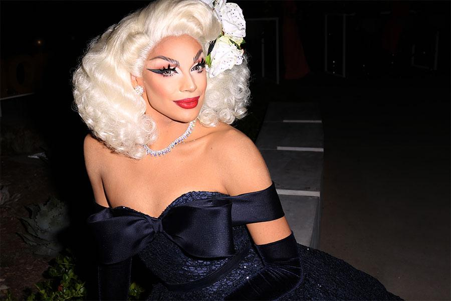 Valentina at the L.A. Area Emmy Awards presented at the Television Academy's Wolf Theatre at the Saban Media Center on Saturday, July 22, 2017, in North Hollywood, California.