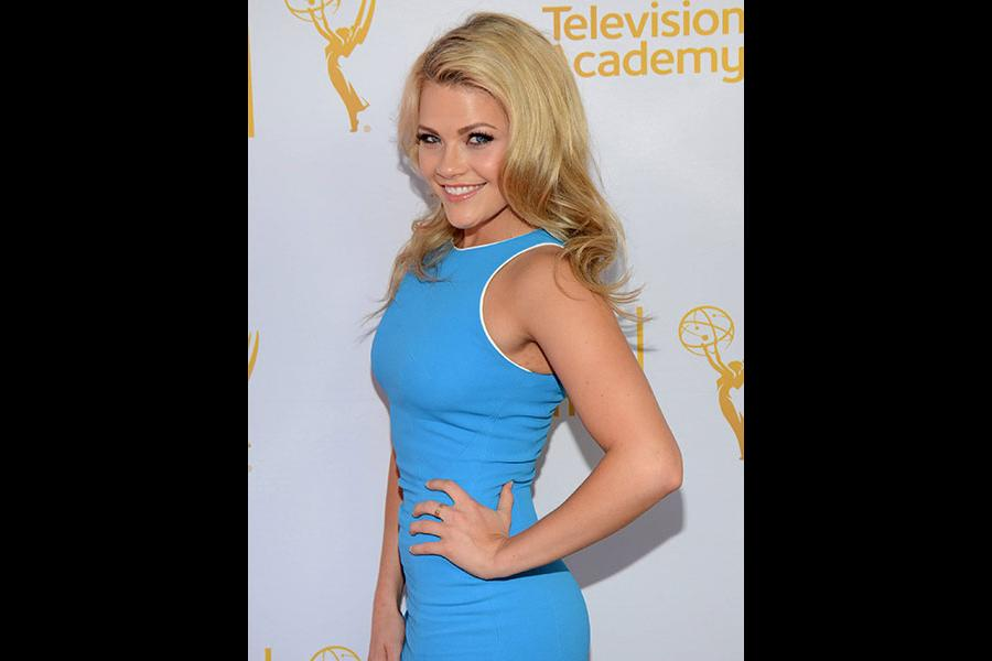 Witney Carson arrives at the Choreographers Nominee Reception in North Hollywood, California.